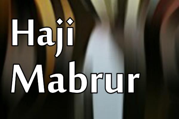 Tanda Tanda Haji Mabrur